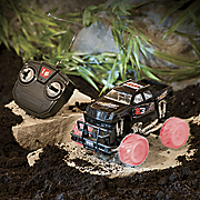 remote control monster car with lighted wheels