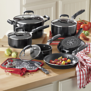 21 piece nonstick aluminum cookware set