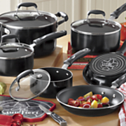 21 piece nonstick aluminum cookware set