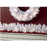 tiffany white garland