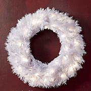 tiffany white wreath