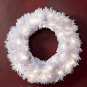 tiffany white wreath