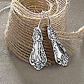 Sterling Silver Keepsake Jewelry Earrings