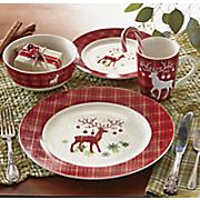 16-Piece Prancer Dinnerware Set