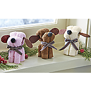 Set of 3 Sweet Treat Pups Towel Gifts