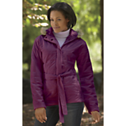 quilted princess seams coat by totes