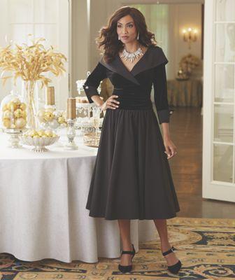 Madeleine Velvet Bodice Gown