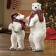 set of 2 polar bears