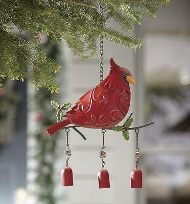 Cardinal Wind Chime