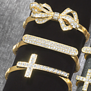 Crystal Studded Stretch Hand-Band