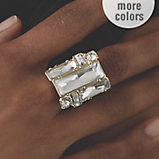 crystal stretch ring 39