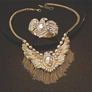firebird crystal necklace