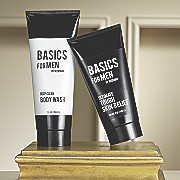 basics for men 2 piece skincare set by camille beckman