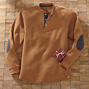 long sleeved henley