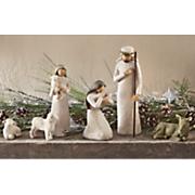 6 pc nativity set