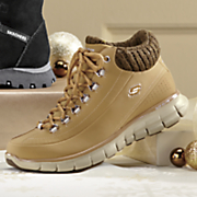 knit collar work boot by skechers