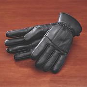 lambskin pieced glove
