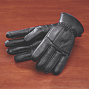lambskin pieced glove