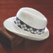 Argyle Fedora Hat