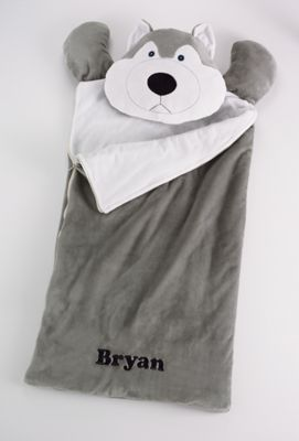 Personalized Bedtime Buds Sleeping Bag
