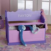 personalized storage bench 72