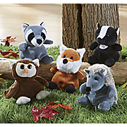 5 piece fur ocious forest creature set