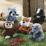 5 piece fur ocious forest creature set