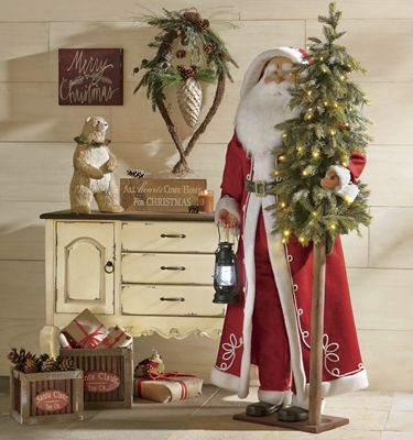 Life-Size Santa Claus