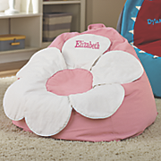 Personalized Flower Bean Bag Chair
