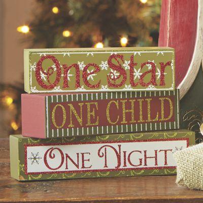 Christmas Sign Trio
