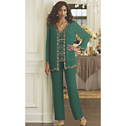 esmeralda 3 piece pant set