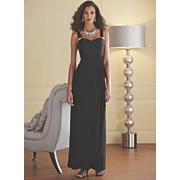 chiara pleated bodice gown