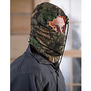 reversible camo blaze orange face mask