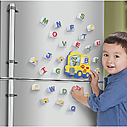fridge phonics magnetic bus and letter set by leapfrog