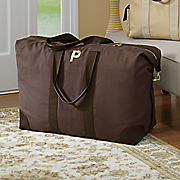 personalized canvas weekender satchel