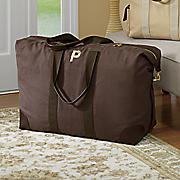 personalized canvas weekender satchel