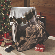woodlands plush throws