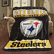 nfl royal plush throw