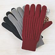 berber fleece ribbed gloves