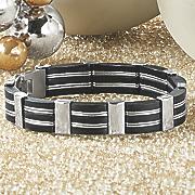 men s stainless steel bracelet