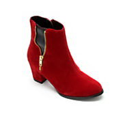 Open Zip Bootie by Midnight Velvet