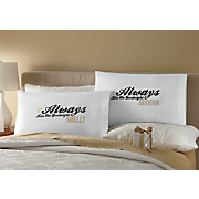 set of 2 personalized pillowcases