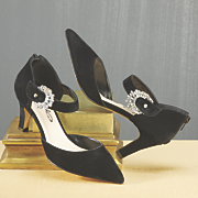 Sunburst Buckle Pump by Midnight Velvet
