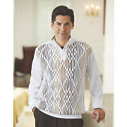 Button-Collar Sweater by Steve Harvey