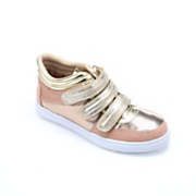 Metallic Gold Sneaker by Midnight Velvet
