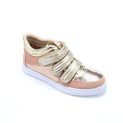 Metallic Gold Sneaker by Midnight Velvet