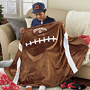 personalized sport blanket