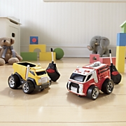 set of 2 soft n chubby remote control trucks