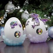 Set of 2 Dragon Hatching Eggs