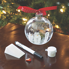 deluxe snowman ornament kit